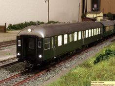 Bahnhof Ondrup: Steuerwagen mit Mitteleinstieg CPw4ymg