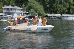 The annual Boat Parade is a staple of Green Lake's July 4th Festival.