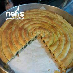 El Açması Ispanaklı Kol Böreği