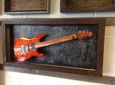 gFrames.com - custom guitar display case
