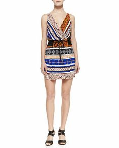 New Oblixe Wrapped Dress by Diane von Furstenberg at Neiman Marcus.