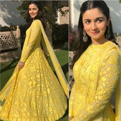 Bollywood Celebs That Are Killing At The Fashion Game Indian Gowns Dresses, Indian Fashion Dresses, Dress Indian Style, Indian Designer Outfits, Ethnic Fashion, Designer Dresses, Pakistani Dresses, Bridal Dresses, Women's Fashion
