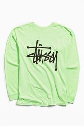 Stussy Logo, Graphic Sweatshirt, T Shirt, Mens Tees, Urban Outfitters, Fitness Models, Long Sleeve Tees, Street Wear, Logos