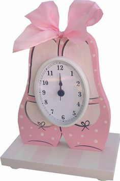 Ballet Shoes Table Clock | Jack and Jill Boutique