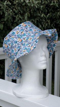 00555a20707f chapeau d été femme ou enfant lin eva confortable en coton bleu marine et  imprimé marin printemps été   CHAPEAU DE SOLEIL   Pinterest   Chapeaux de  soleil, ...