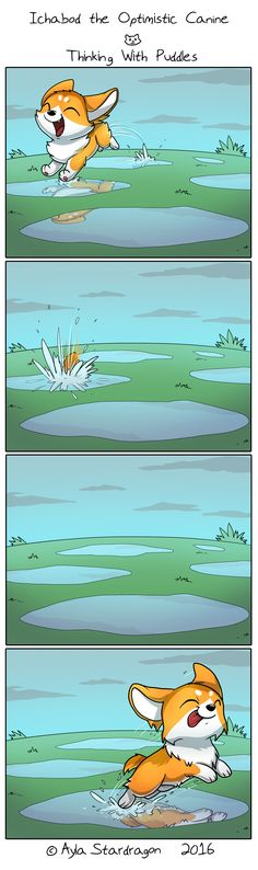 Ichabod the Optimistic Canine :: Thinking With Puddles | Tapastic Comics…