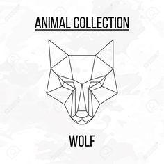 Afbeeldingsresultaat voor geometric animal