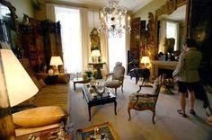 Coco Chanel apartment livingroom
