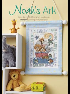Noah's Ark Cross Stitch Collection Issue 237 July 2014 Zinio Saved
