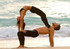 9 Mejores Imagenes De Yoga Challenge Yoga En Parejas Yoga En Pareja Posturas De Yoga