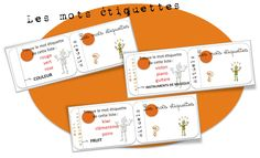 Cartes-rituels Vocabulaire