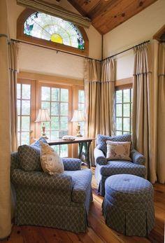 window treatments for large windows (NOT chairs!) http://www.daviswin.com