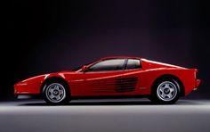 Ferrari Testarossa -- I had a poster of one on my wall in elementary school.