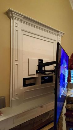 Where To Put Cable Box With Tv Over Fireplace For Stereo Dvd