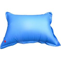 Heavy-Duty 4' x 5' Winterizing Air Pillow for Above-Ground Swimming Pools, Blue