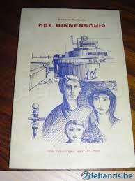 Alfons de Harduwijn Allias Raoul Wijnakker - 'Het Binnenschip' (1965), verlucht met tekeningen van Jan Hoet.  http://www.literair.gent.be/html/fragmentdetail.asp?ID=3&AID=2220