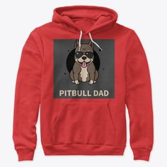 Pitbull Dad Products from Sam Shop Hoodies, Sweatshirts, Pitbulls, Dads, Graphic Sweatshirt, Store, Sweaters, Shopping, Products