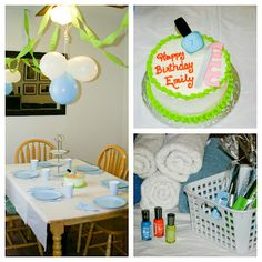 momstown hamilton: How To Host A Spa Themed Birthday Party
