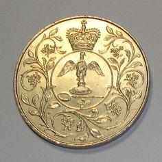 H.M Queen Elizabeth II 1977 Silver Jubilee Crown Commemorative Coin