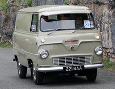 1960 Thames 400E van.. reminds me of the old Corvair van