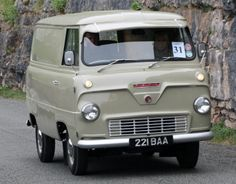 1960 Thames 400E van.. reminds me of the old Corvair van