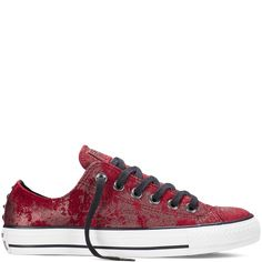 Chuck Taylor All Star Hardware deep bordeaux Studded Sneakers 0fc697521
