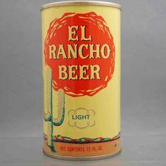 El Rancho L61-24 flat top beer can