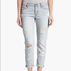 Lucky Brand Boyfriend Jeans Worn twice. Perfect condition. This price is an absolute steal. Size is 4/27. Super cute fit. Feel free to ask questions :) Lucky Brand Jeans Boyfriend