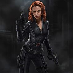 Before Age of Ultron I did this approved Black Widow design for Captain America…