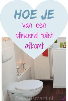 Hoe je van een stinkend toilet afkomt