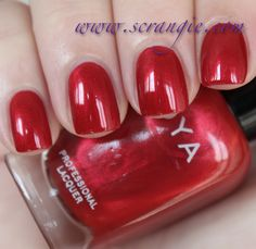 Scrangie: Zoya Diva Collection Fall 2012 Swatches and Review - Zoya Nail Polish in Elisa