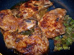 Simple ingredients, You can throw the chops in frozen and cook for 6 hours! I made these with white rice and southwestern style corn. Crockpot Dishes, Crock Pot Slow Cooker, Pork Dishes, Crock Pot Cooking, Slow Cooker Recipes, Crockpot Recipes, Cooking Recipes, Rib Recipes, Pork Chop Recipes