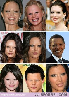 b for bel: THIS is why Eyebrows are Important... Scary...
