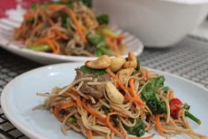 More than Words: Easy Beef and Brocollini Soba Noodle Salad