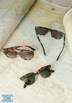 Shop TOMS eyewear collection for stylish inspiration and a great way to give back.