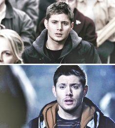 Baby Dean & grown up battered Dean <3