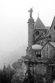 Mont St. Odile in Alsace France - so yes, not QUITE in Strasbourg, but close by!