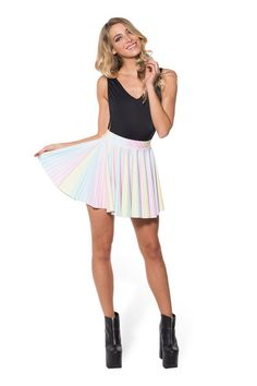 Little Lovers Cheerleader Skirt - LIMITED › Black Milk Clothing