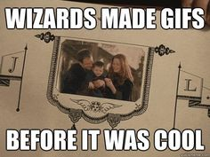 Wizard gifs. OMG, I just realized this is why I love gifs so much. I hadn't ever thought of it this way before.