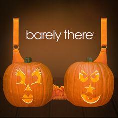 Happy Halloween! Design Your Own Barely There Pumpkin Bra! #BTPumpkinBra