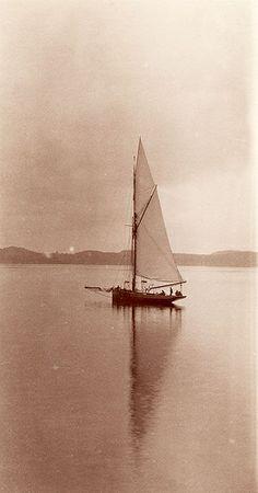 Sailboat, Lysekil, Sweden by Swedish National Heritage Board, via Flickr