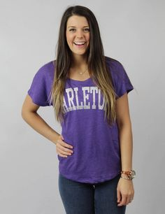 You'll be sure to stand out of the crowd in this Tarleton tee!