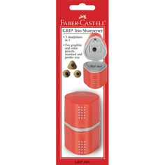 Get the Faber-Castell® GRIP Trio Sharpener at Michaels.com. Versatile and easy-to-use, this GRIP trio sharpener from Faber-Castell is a must-have for your craft kit.