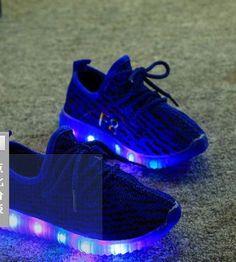 c7e3e6c3a301 Children Shoes With Light Led Enfant sneaker Girls tenis Sports Breathable Boys  trainer yezi light baby shoes kids sneaker