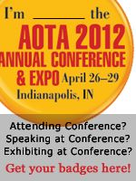2012 Conference & Expo in Indianapolis - It's coming! #Rehabilitation #OccupationalTherapy #OTMonth