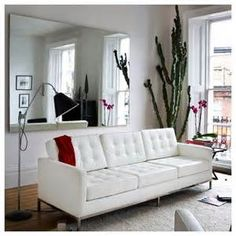 mid century modern tuxedo sofa - - Yahoo Image Search Results
