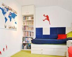 Bendi - Mały pokój dziecka dla chłopca dla ucznia dla nastolatka, styl nowoczesny - zdjęcie od roomrebel