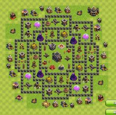 24 Best Coc Images Town Hall Base Clash On Clans