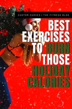 """Christmas isn't here yet–but thanksgiving has definitely. Don't need to let another holiday meal aka """"Calorie Overload"""" happen before you get that body into shape!  You can keep that booty tight, that stomach flat, and that chest right this Christmas instead of just worrying about food and presents. CHECK OUT THE 12 EXERCISES TO HELP BURN HOLIDAY CALORIES. These exercises will burn calories even after you finish–so get comfortable and have a little turkey–you should be good!"""
