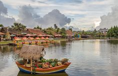 What about local food? Floating market #Lembang #Bandung is also called Paris of Java. #WonderfulIndonesia #VisitIndonesia For the story see site in bio for full post ------------------------------------------- Bandung is a beautiful colonial town in central Javaand a must visit if you travel through Indonesia. Its called the Paris of Java due to its beautiful colonial heritage and pleasant climate. In colonial time it was used as an escape from the heat because the surrounding mountains and…